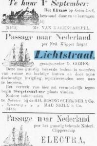 adv.passage naar Ned.op Lichtstraal