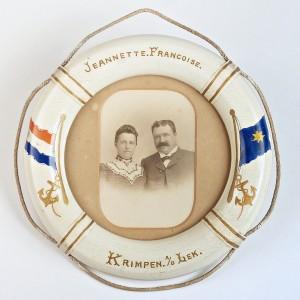 Kapitein Duit en echtgenote Jansje Schuur