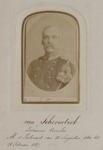 """Luitenant Van Schermbeek voer in 1867 met de """"Lichtstraal"""" naar Batavia"""