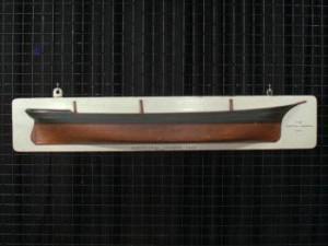 halfmodel van de Martina Johanna, bouwnr. 438