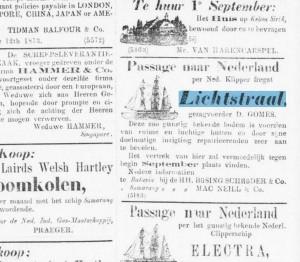 Lichtstraal,Bataviaasch Hb,18.8.1873
